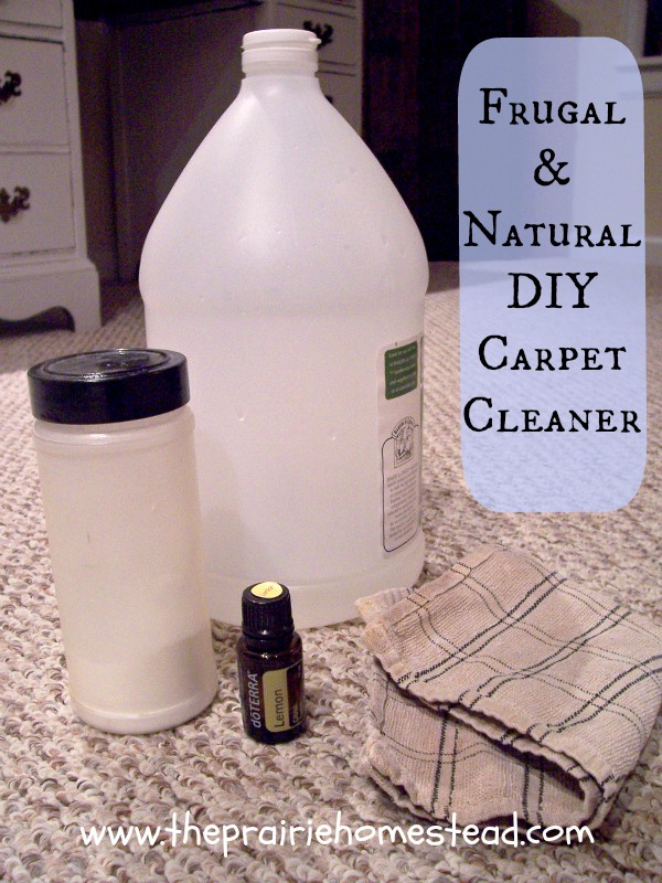 homemade natural carpet cleaner the prairie homestead. Black Bedroom Furniture Sets. Home Design Ideas