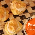 How to Make Pumpkin Cream Puffs