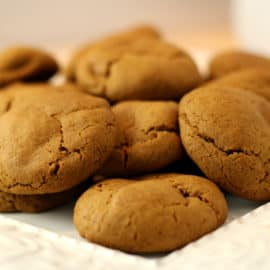 soft molasses cookies recipe