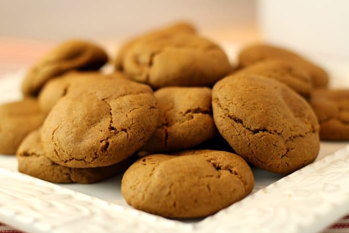 Soft Molasses Cookies Recipe The Prairie Homestead