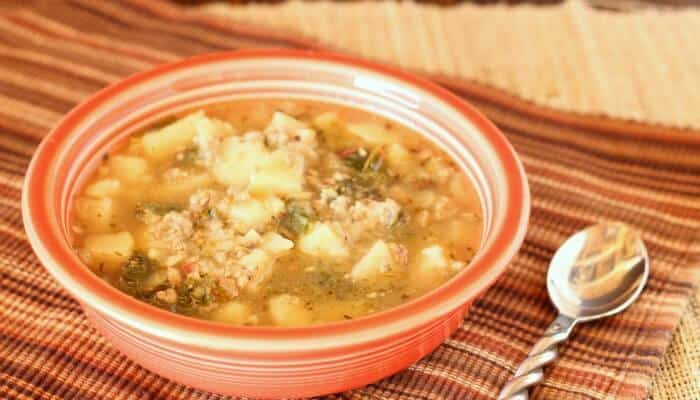 Rustic Sausage & Potato Soup