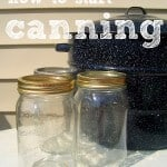 How to Can with a Water Bath Canner