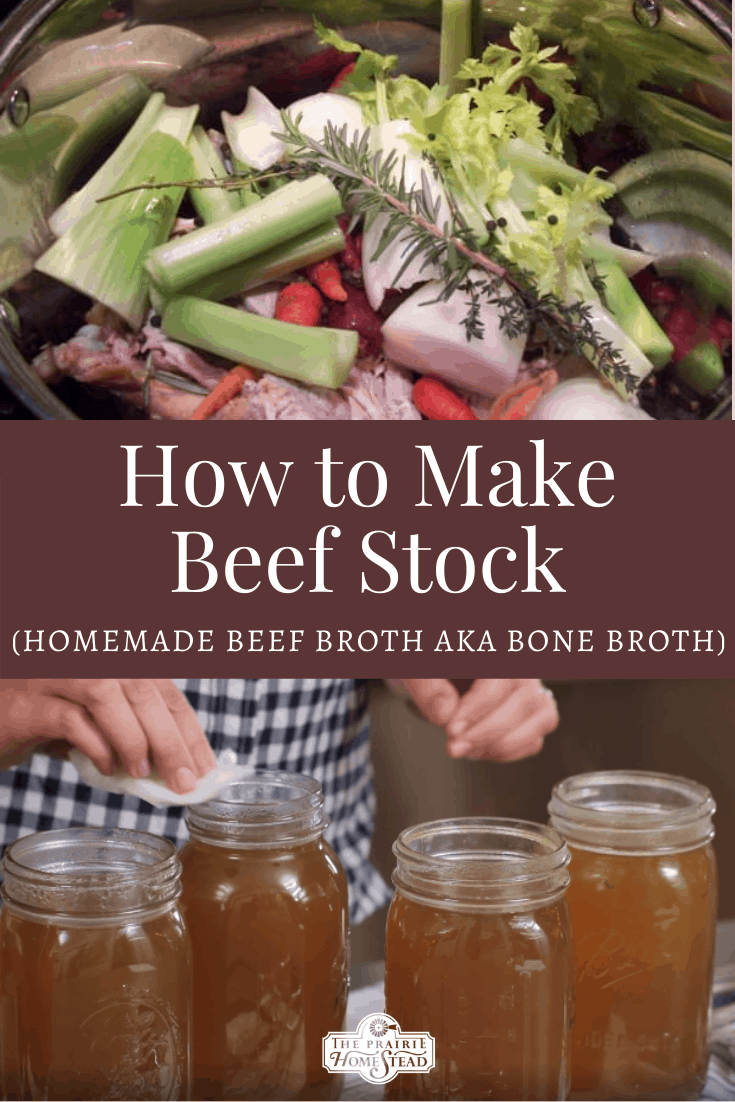 How to Make Homemade Beef Stock