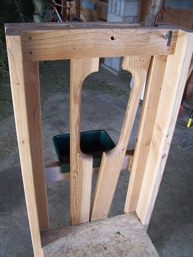 Building A Goat Milking Stand The Prairie Homestead