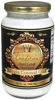 Winner: Tropical Traditions Coconut Oil