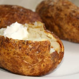 steakhouse baked potato recipe