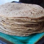 Whole Wheat Sourdough Tortillas