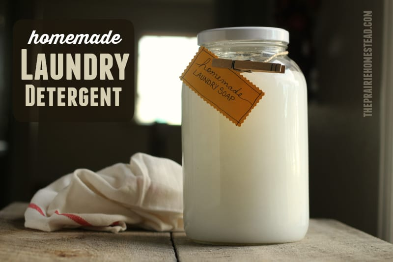 Homemade Laundry Detergent | The