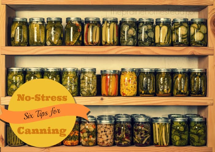 Canning without stress