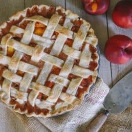 homemade peach pie filling freezer