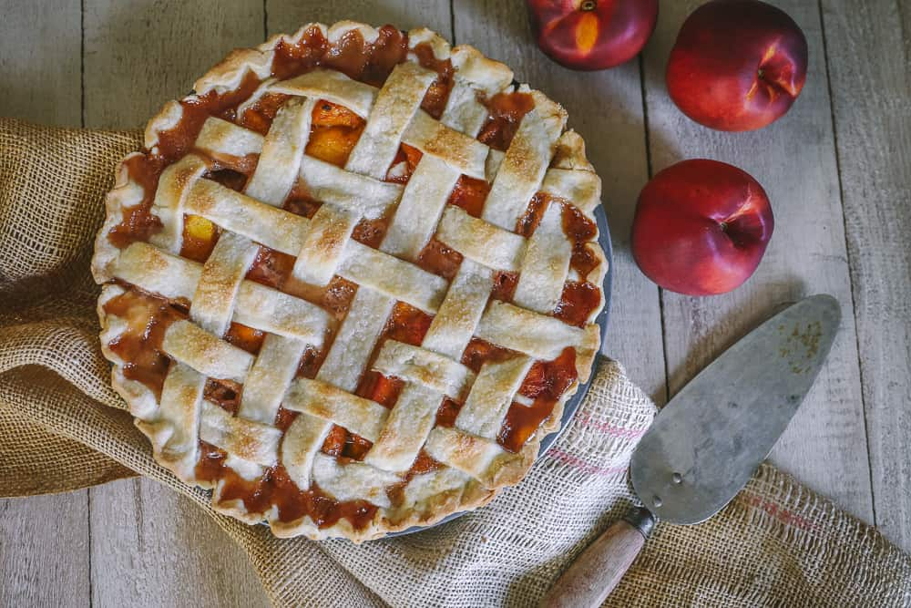 homemade peach pie filling freezer