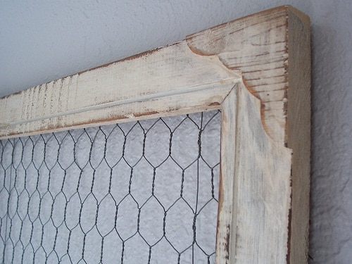 homestead decor diy chicken wire frame the prairie homestead Spider Web Frame diy chicken wire frame