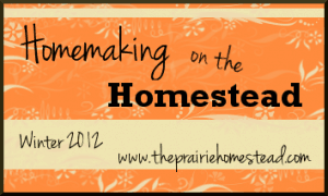 homemaking on the homestead series