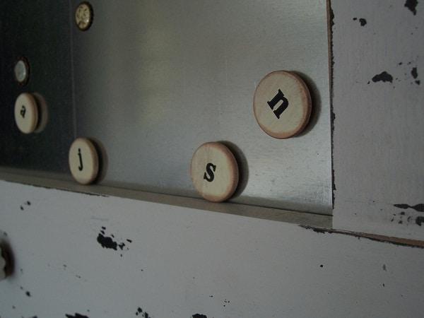 Homemade Alphabet Letters