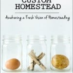 "It's Here! Start Homesteading Today with ""Your Custom Homestead"""