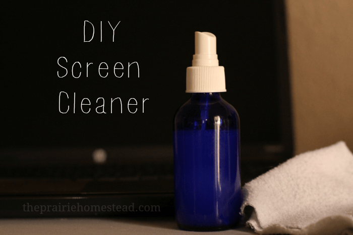 diy screen cleaner