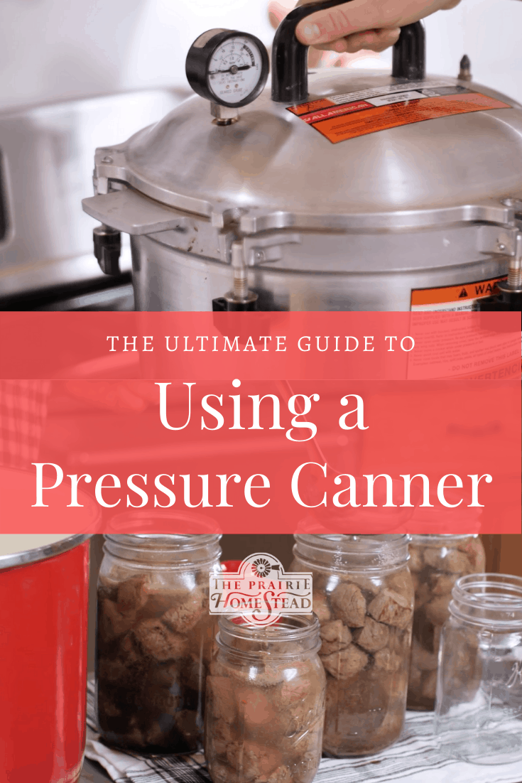 how to use a pressure canner guide