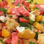Simple Homemade Panzanella {Guest Post}