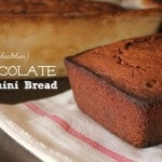 {Healthier} Chocolate Zucchini Bread