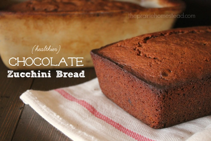 healthy chocolate zucchini bread