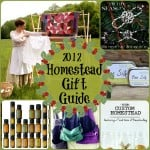The 2012 Homesteader's Gift Guide