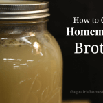 How to Can Homemade Stock or Broth