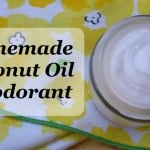 Homemade Natural Coconut Oil Deodorant