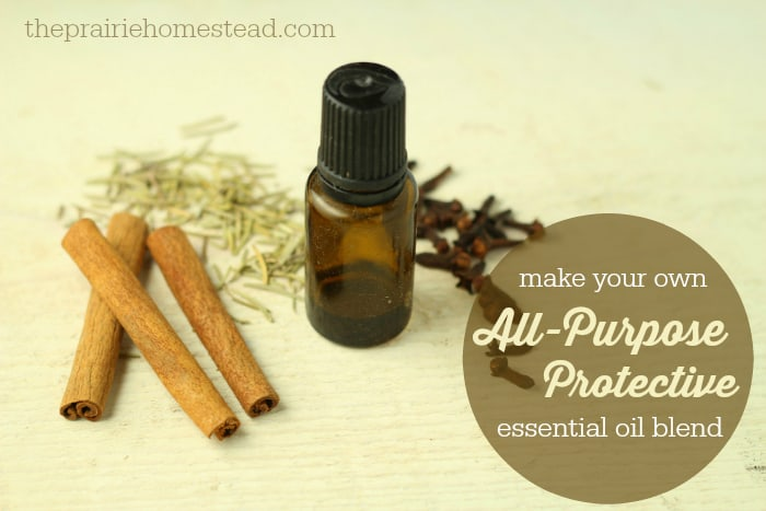 DIY All-Purpose Protective Essential Oil Blend