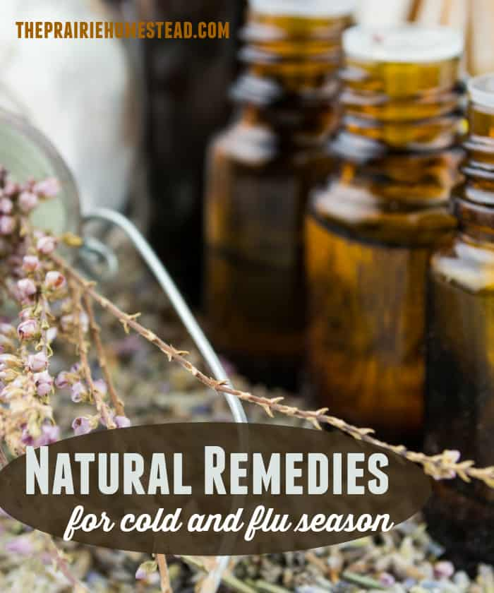 natural remedies and essential oils for cold and flu