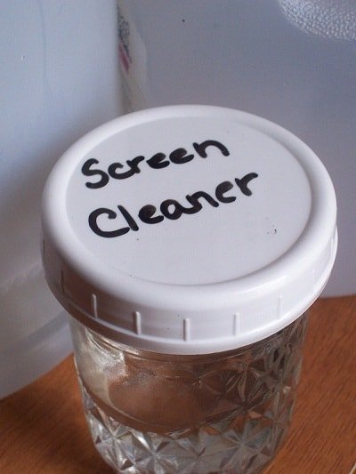 homemade screen cleaner