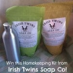 Giveaway Week! Irish Twins Soap Company