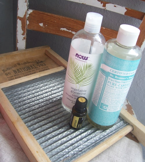 DIY Laundry Spot Remover