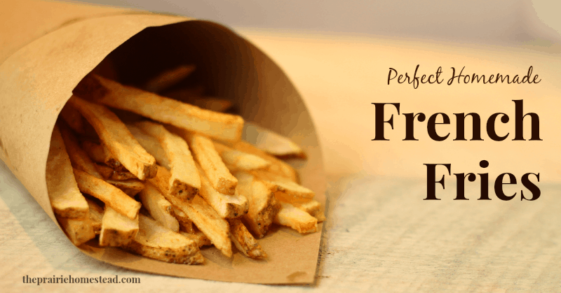 Best way to make french fries at home
