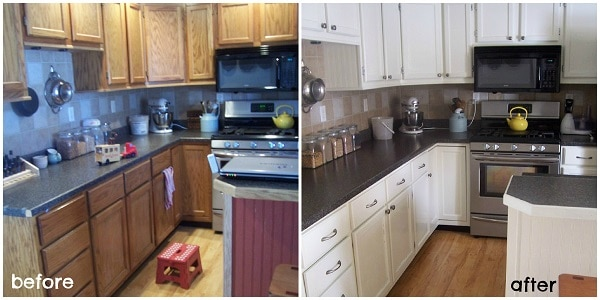 Delicieux How To Paint Kitchen Cabinets