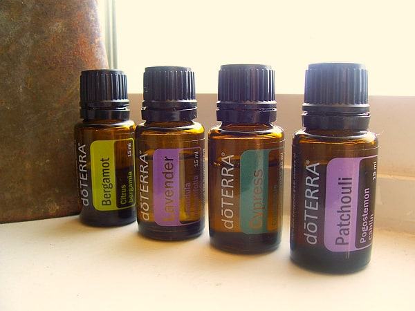 My favorite combo to diffuse right now: bergamot, lavender, cypress, and patchouli