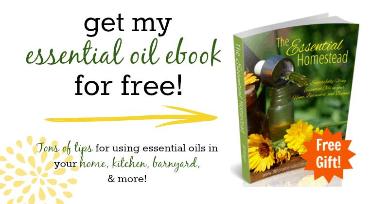free essential oil ebook