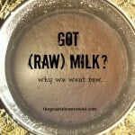 Got (Raw) Milk? Why We Went Raw…
