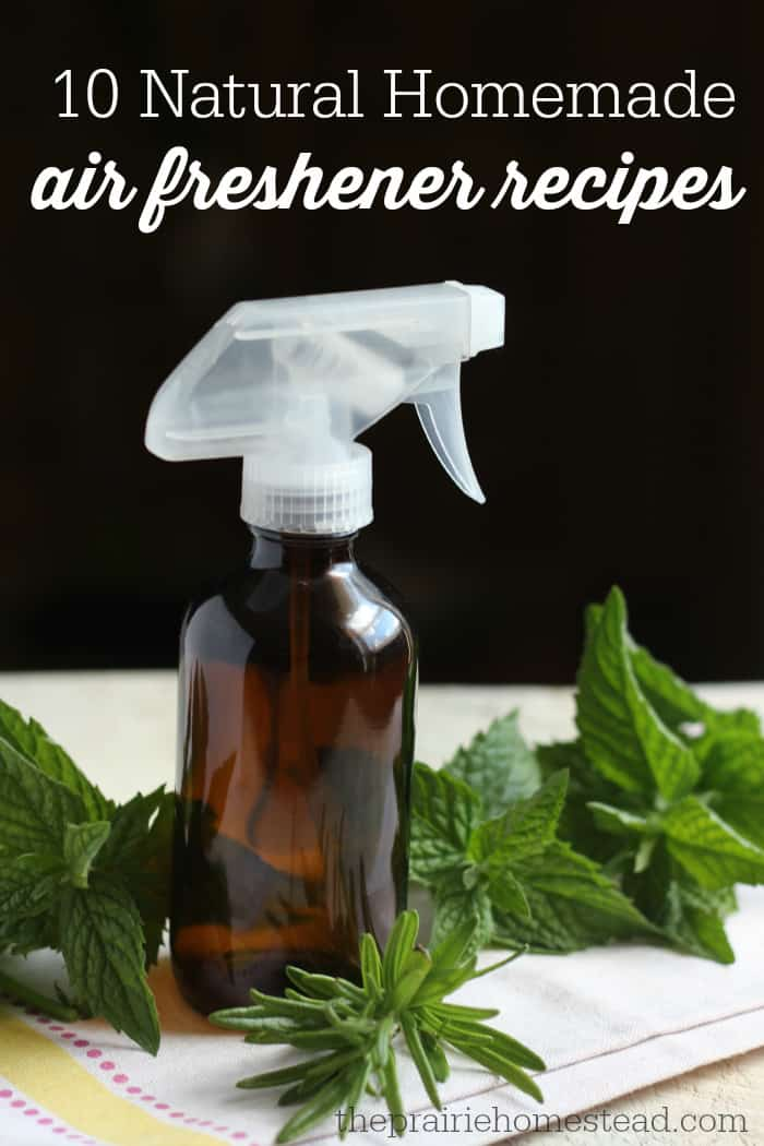 10 Homemade Air Freshener Recipes | The Prairie Homestead