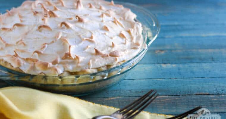 Lemon Whey Pie Recipe