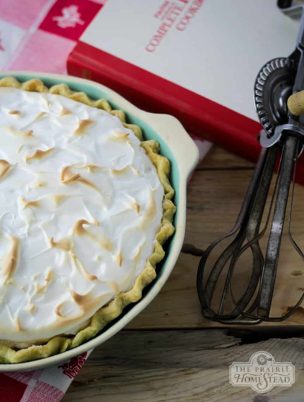 lemon whey pie recipe