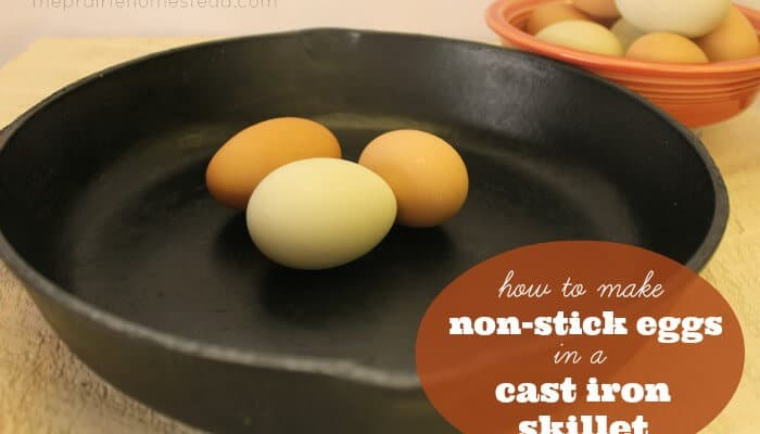 How to Make Non-Stick Eggs in a Cast Iron Skillet