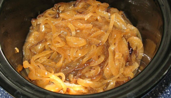 Make Caramelized Onions in the Slow Cooker