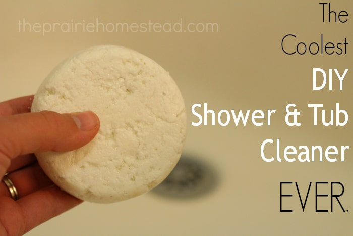 Coolest Homemade Tub & Shower Cleaner