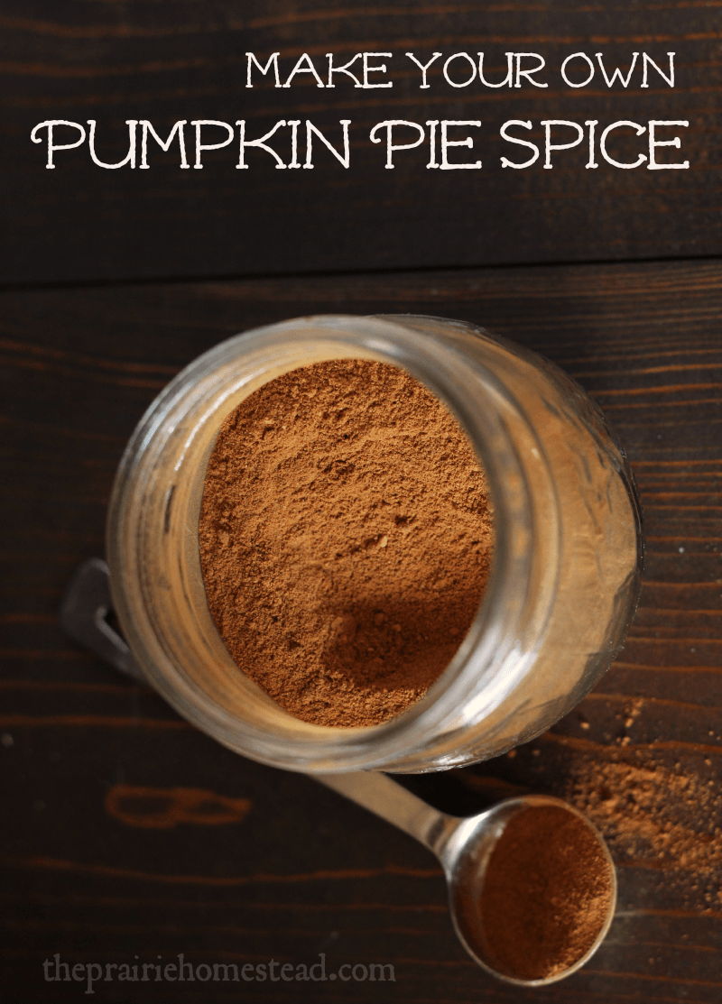 Pumpkin Pie Spice Recipe | The Prairie Homestead