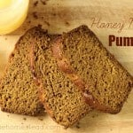 Honey Maple Pumpkin Bread Recipe