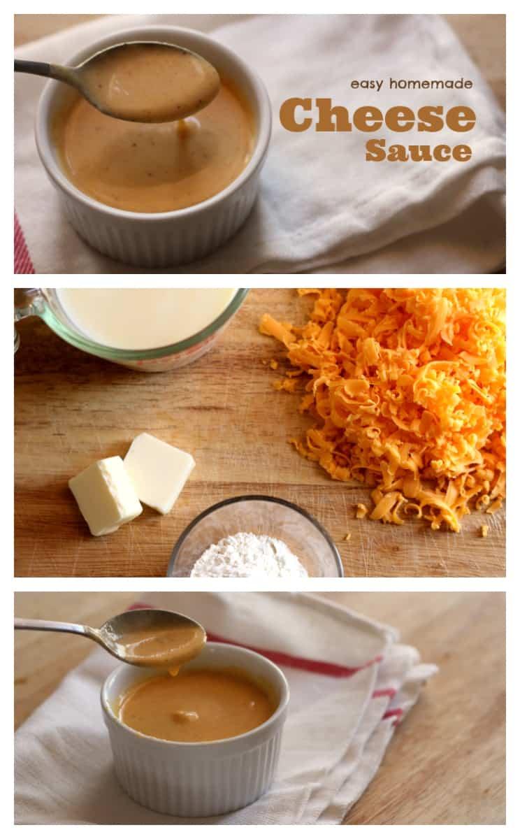 homemade cheese sauce recipe