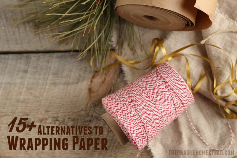 15 wrapping paper alternatives