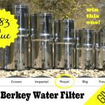 GIVEAWAY: Royal Berkey Water Filter ($283 value!)