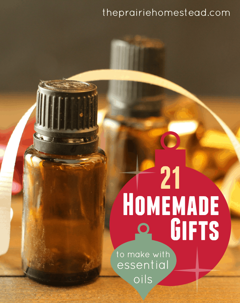 21 Homemade Gifts You Can Make with Essential Oils