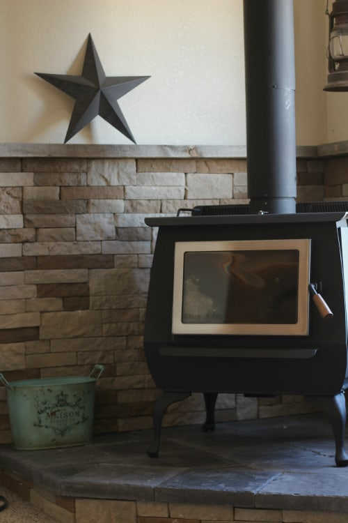 DIY woodstove install - Our DIY Wood Stove Installation €� The Prairie Homestead